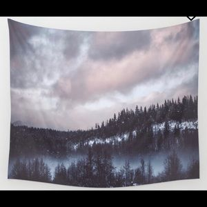 Society6 Winter II Wall Tapestry - Small